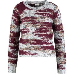 Swetry damskie: Vila VIESTANA L/S KNIT TOP Sweter fig/fig combo