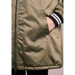 Płaszcze damskie pastelowe: BOSS CASUAL OCUMI Krótki płaszcz khaki