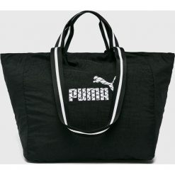 Puma - Torba. Czarne torebki klasyczne damskie marki Puma, z materiału. W wyprzedaży za 99,90 zł.