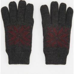 Rękawiczki - Bordowy. Czerwone rękawiczki męskie marki Reserved. Za 39,99 zł.