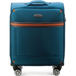 Walizka kabinowa 56-3S-491-95. Niebieskie walizki marki Wittchen, małe. Za 179,00 zł.