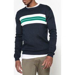 Kardigany męskie: Sweter z okrągłym dekoltem