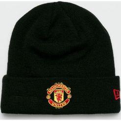 New Era - Czapka. Czarne czapki zimowe męskie New Era, z dzianiny. W wyprzedaży za 79,90 zł.