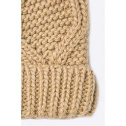 Only - Czapka. Szare czapki zimowe damskie marki ONLY, s, z bawełny, casualowe, z okrągłym kołnierzem. W wyprzedaży za 24,90 zł.