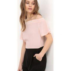 Kombinezony damskie: Kombinezon spodnie, odkryte ramiona
