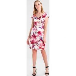 S.Oliver BLACK LABEL KURZ Sukienka etui purple/pink. Fioletowe sukienki marki s.Oliver BLACK LABEL, s, z bawełny. W wyprzedaży za 471,20 zł.