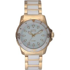 """Zegarki męskie: Zegarek kwarcowy """"Aristos"""" w kolorze złoto-białym"""