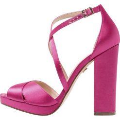 Rzymianki damskie: Nina Shoes MARYLIN Sandały na obcasie pink rose