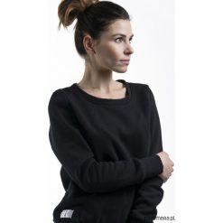 Bluzy rozpinane damskie: Czarna bluza BASIC.