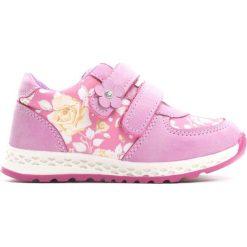 Ciemnoróżowe Buty Sportowe Contour. Różowe buty sportowe dziewczęce marki Born2be, z materiału, z okrągłym noskiem, na rzepy. Za 69,99 zł.