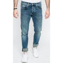 Pepe Jeans - Jeansy Track. Niebieskie jeansy męskie regular Pepe Jeans. W wyprzedaży za 269,90 zł.