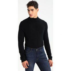 Swetry klasyczne męskie: Topman TURTLE  Sweter black