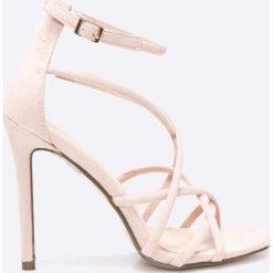 Answear - Sandały. Szare sandały damskie marki ANSWEAR, z gumy. W wyprzedaży za 89,90 zł.