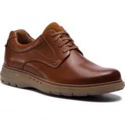 Półbuty CLARKS - Un Ramble Lo 261369967  Dark Tan Leather. Brązowe półbuty skórzane męskie Clarks. W wyprzedaży za 439,00 zł.