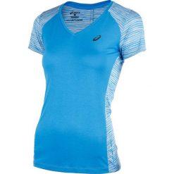 Bluzki asymetryczne: koszulka do biegania damska ASICS FUZEX V-NECK SHORT SLEEVE TOP / 141214-8012 - ASICS FUZEX V-NECK SHORT SLEEVE TOP