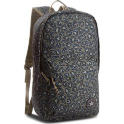 Plecak CONVERSE - 10003331-A13 348. Zielone plecaki damskie Converse, z materiału. W wyprzedaży za 119,00 zł.