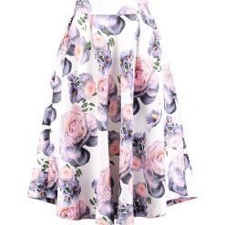 Spódniczki trapezowe: Studio 75 YASEBU BLOSSOM Spódnica trapezowa snow white