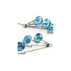 Szklane kolczyki Droplett niebieskie transparentne 5bd81f. Niebieskie kolczyki damskie Projekt mosko, szklane. Za 129,00 zł.