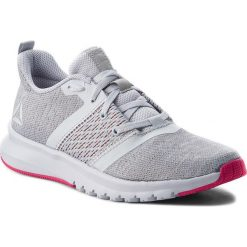 Buty Reebok - Print Lite Rush CN2612  Grey/Shadow/Rose. Szare buty do biegania damskie Reebok, z materiału, reebok print. W wyprzedaży za 219,00 zł.
