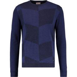 Swetry klasyczne męskie: Armani Collezioni Sweter blau