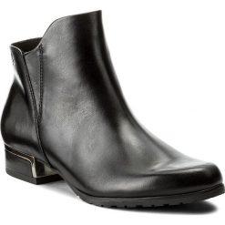 Botki CAPRICE - 9-25335-39 Black Nappa 002. Czarne botki damskie skórzane marki Caprice. W wyprzedaży za 249,00 zł.