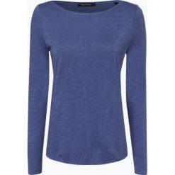Marc O'Polo - Damska koszulka z długim rękawem, niebieski. Niebieskie t-shirty damskie Marc O'Polo, xl, z bawełny, polo. Za 179,95 zł.