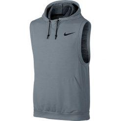 Nike Koszulka męska Dri-Fit Fleece Pullover szara r. M (742618 065). Szare t-shirty męskie marki Nike, m, dri-fit (nike). Za 199,00 zł.