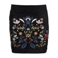 Desigual Spódnica Damska Ariadna 42 Czarny. Szare spódniczki marki Desigual, l, z tkaniny, casualowe, z długim rękawem. W wyprzedaży za 269,00 zł.