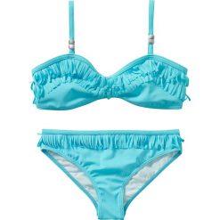Stroje dwuczęściowe dziewczęce: Bikini dziewczęce (2 części) bonprix turkusowy