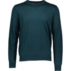 Sweter w kolorze zielonym. Zielone swetry klasyczne męskie marki Ben Sherman, m, z wełny, z okrągłym kołnierzem. W wyprzedaży za 195,95 zł.