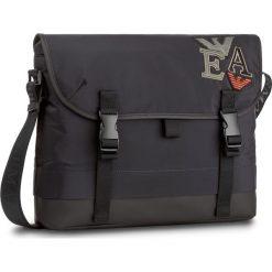 Torba na laptopa EMPORIO ARMANI - Y4M168 YLI9V 81285  Bleu/Black. Czarne torby na laptopa marki Emporio Armani, z materiału. W wyprzedaży za 709,00 zł.