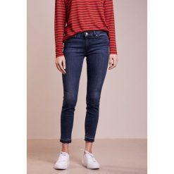 BOSS CASUAL ATLANTA Jeansy Slim Fit dark blue. Niebieskie jeansy damskie relaxed fit BOSS Casual, z bawełny. W wyprzedaży za 471,20 zł.