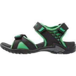 KangaROOS INCLAS Sandały trekkingowe black/simply green. Niebieskie sandały chłopięce marki KangaROOS. Za 129,00 zł.