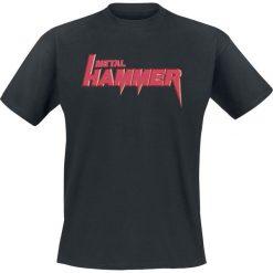 Metal Hammer Old School T-Shirt czarny. Niebieskie t-shirty męskie marki bonprix, m, z nadrukiem, z klasycznym kołnierzykiem, z długim rękawem. Za 74,90 zł.