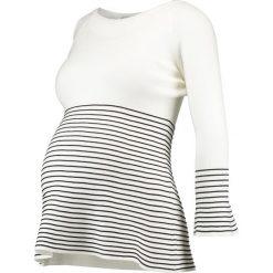 Swetry klasyczne damskie: Anna Field MAMA Sweter offwhite