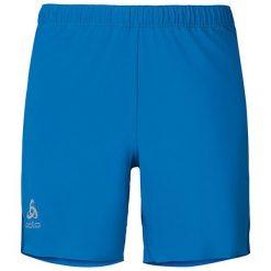 Odlo Spodenki Shorts KOPTER niebieskie r. S (348012). Niebieskie spodenki sportowe męskie marki ARTENGO, l, z elastanu. Za 143,73 zł.