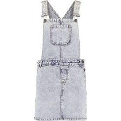 Sukienki hiszpanki: Noisy May Petite NMLARA Sukienka jeansowa dark blue denim
