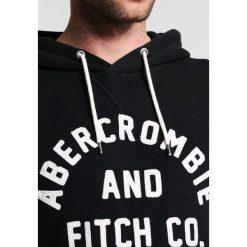 Abercrombie & Fitch BASIC LOGO Bluza black. Niebieskie kardigany męskie marki Abercrombie & Fitch. Za 349,00 zł.