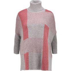 Swetry klasyczne damskie: Vero Moda Tall VMMOORPARK Sweter light grey melange