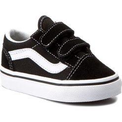 Półbuty VANS - Old Skool V VN000D3YBLK Black. Czarne półbuty damskie skórzane Vans. Za 149,00 zł.