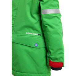 Didriksons STORLIEN  Kurtka zimowa kryptonite green. Czerwone kurtki chłopięce zimowe marki Didriksons, z materiału. W wyprzedaży za 330,85 zł.
