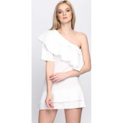 Biała Sukienka Whatever. Białe sukienki letnie marki Born2be, s. Za 64,99 zł.