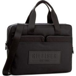 Torba na laptopa TOMMY HILFIGER - City Nylon Computer Bag AM0AM02322 002. Czarne plecaki męskie marki TOMMY HILFIGER, z nylonu. W wyprzedaży za 299,00 zł.