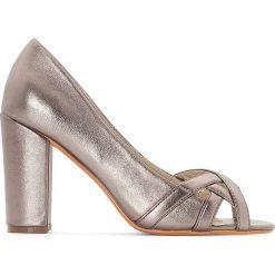Czółenka: Czółenka metaliczne, na szeroką stopę 38-45