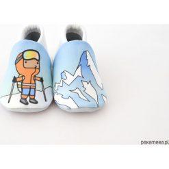 Buciki niemowlęce: Miękkie buciki Górskie szczyty