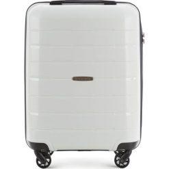 Walizka kabinowa 56-3T-721-88. Białe walizki marki Wittchen, z gumy, małe. Za 199,00 zł.