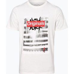 Jack & Jones - T-shirt męski, czarny. Czarne t-shirty męskie z nadrukiem Jack & Jones, m. Za 59,95 zł.