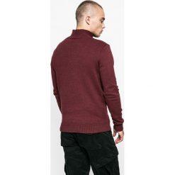 Medicine - Sweter Lord and Master. Brązowe swetry klasyczne męskie marki MEDICINE, l, z bawełny. W wyprzedaży za 79,90 zł.