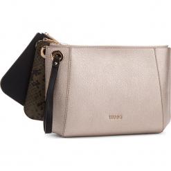 Torebka LIU JO - Pouch Tris Duomo Py N68025 E0060  Nero 22222. Czarne torebki klasyczne damskie marki Liu Jo, ze skóry ekologicznej. Za 399,00 zł.