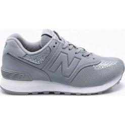 New Balance - Buty WL574FAB. Szare buty sportowe damskie New Balance, z materiału. W wyprzedaży za 269,90 zł.